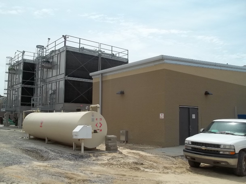 Ocean Springs Hospital New Central Energy Plant