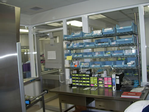 Ocean Springs Hospital USP 797 Pharmacy Clean Room