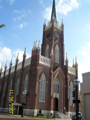 St Mary S Cathedral Historic Renovation Natchez Ms